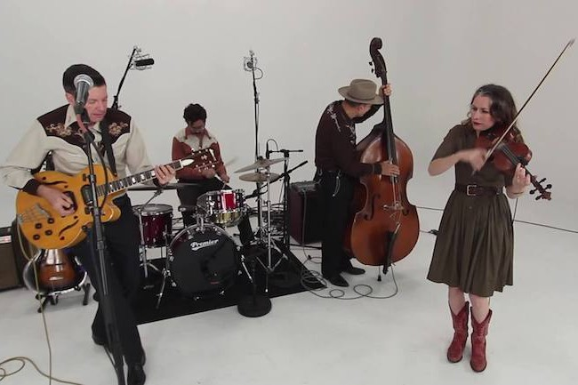 The Jerrells Performing