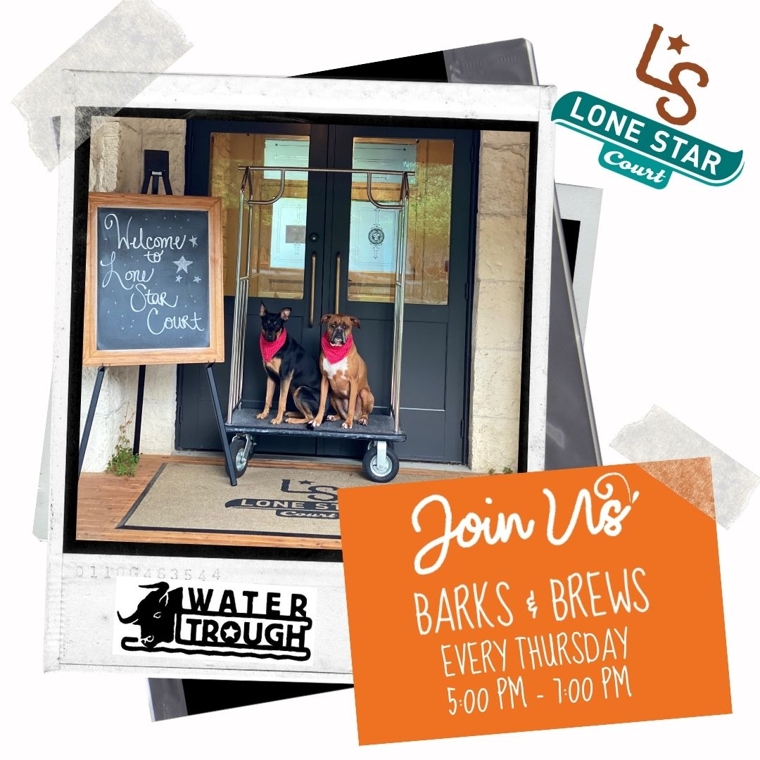 Barks and brews graphic