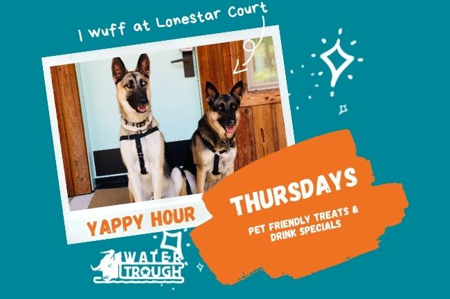 Yappy Hour  at Lonestar Court