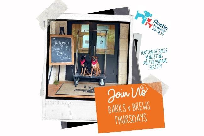 Barks and Brews at Lonestar Court