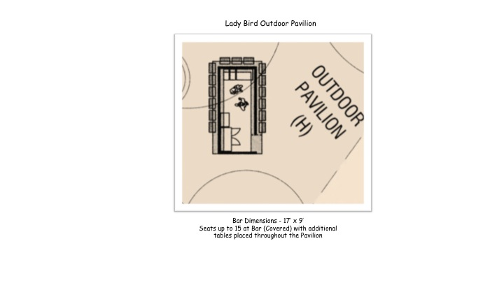 Lady Bird Outdoor Pavilion
